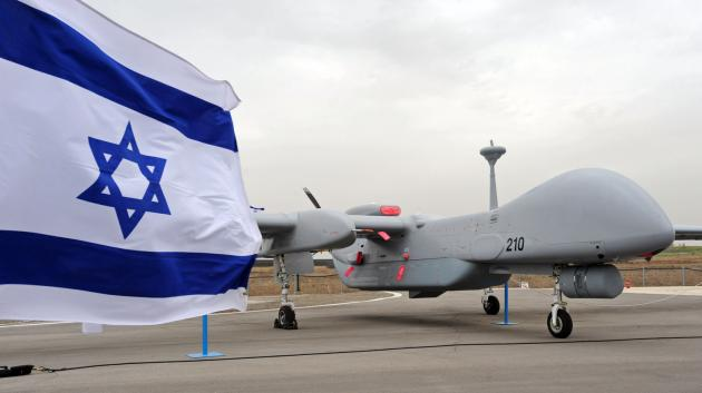 The Heron TP (Eitan) UAV is designed to fly at high altitude on missions spanning over several days. This HALE (High Altitude Long Endurance) UAV has a wingspan of a Boeing 737 and weighs 4.5 tons; and of that, 1,000 Kg is payload. The Eitan, derived from the `Heron' MALE (Medium Altitude Long Endurance) platform, was developed by Israel Aerospace Industry (IAI).