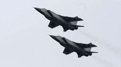 A formation of Russian Mig 31's (Photo: Reuters)
