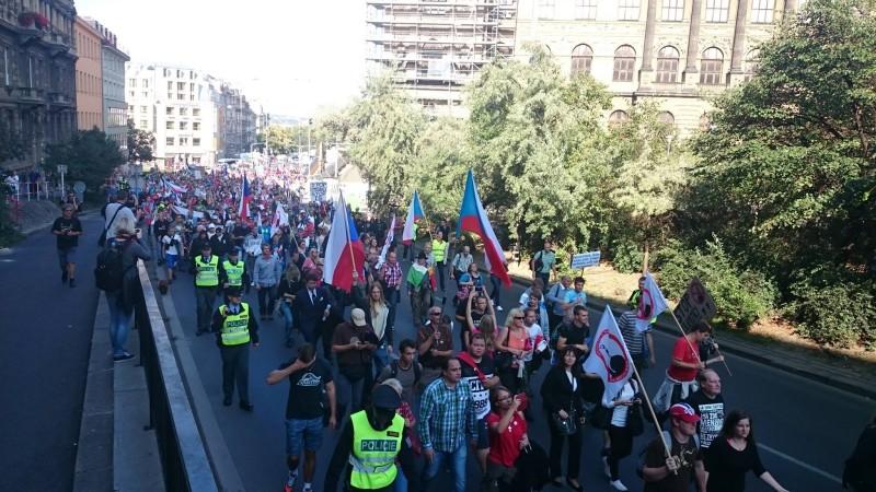 anti-jihad demo